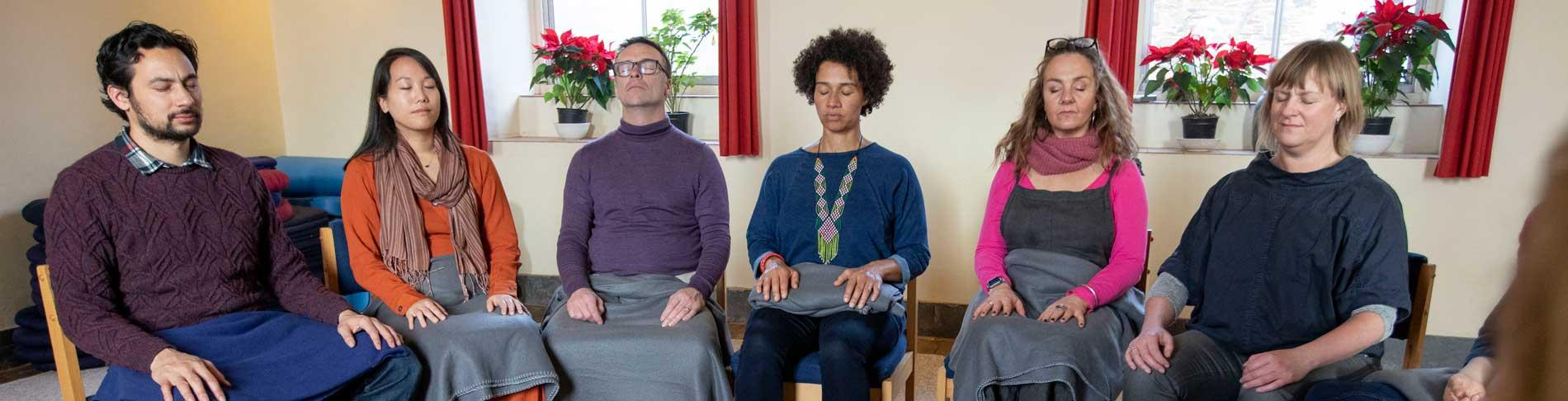 Mindfulness courses from The Sharpham Trust