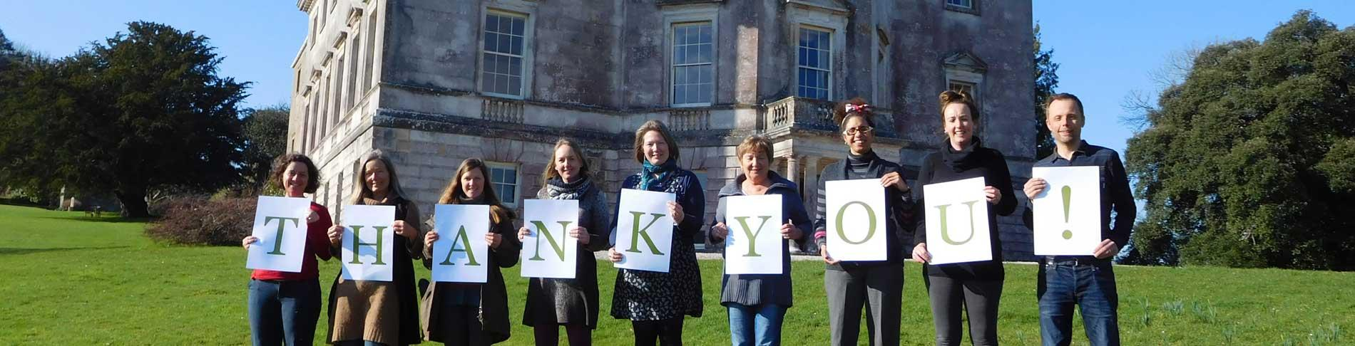 Thank you from The Sharpham Trust