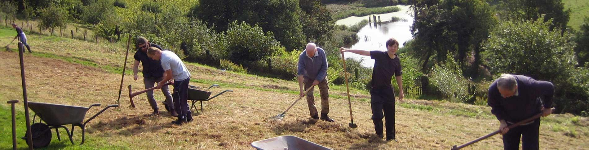 Volunteer at Sharpham