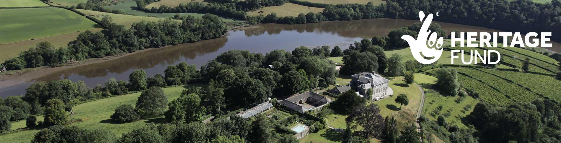 Sharpham Wild for People National Lottery funded project