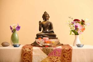 The Buddha in our Meditation Room