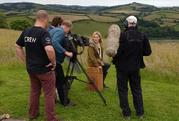 BBC Countryfile films at Sharpham