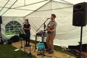 Harbottle & Jonas entertain in the marquee