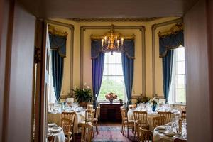 The Octagonal Room is licensed for your ceremony or can seat your guests