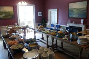 Our Dining Room in Sharpham House