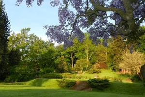 Our formal gardens - Grade II-listed and designed by Percy Cane - provide an elegant outdoor space