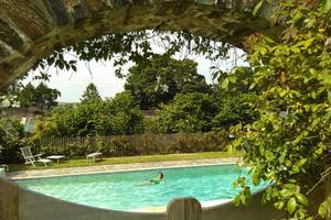 You and your participants can use the swimming pool in the grounds of Sharpham House
