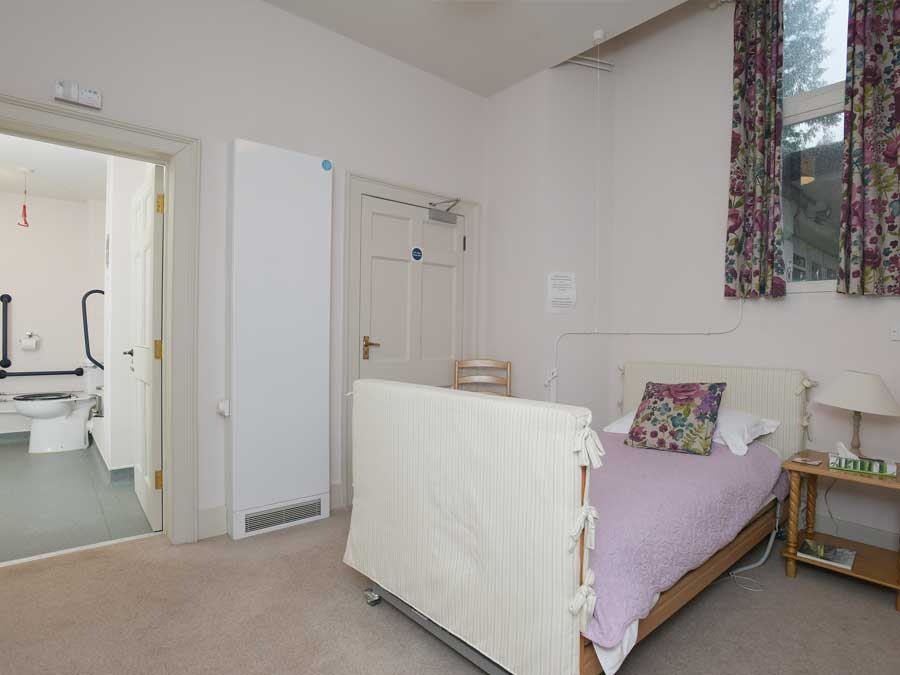 Accessible room in Sharpham House