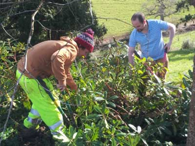 Volunteer at The Sharpham Trust, near Totnes, Devon