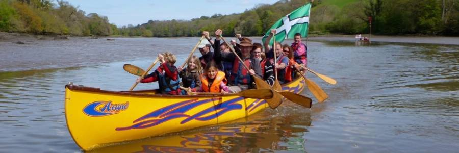 Canoe Adventures canoe