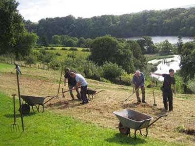 Volunteer at The Sharpham Trust